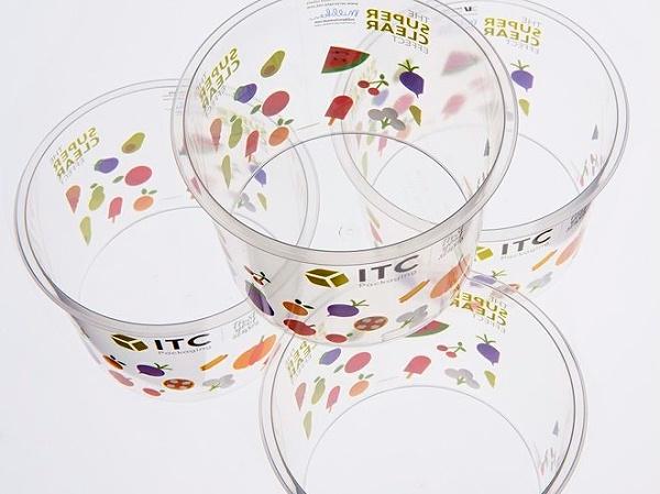 透明圆筒包装盒