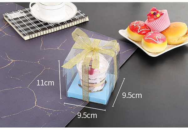 透明pp糕点包装盒