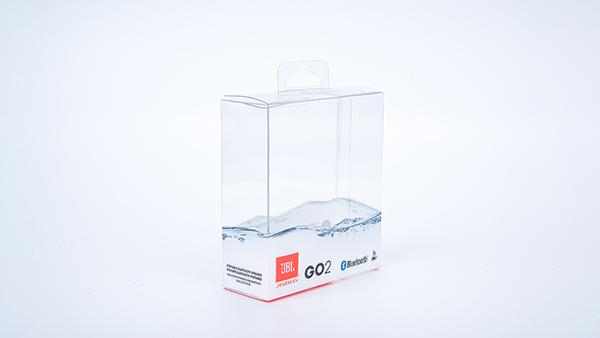 美国JBL透明包装胶盒定制案例