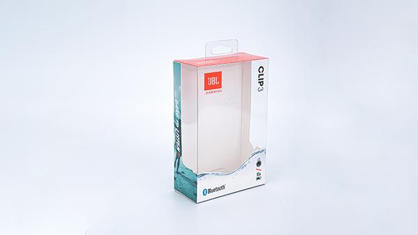 美国JBL透明包装胶盒定制案例1