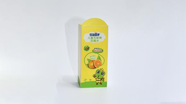 青蛙王子透明胶盒包装盒定制案例1