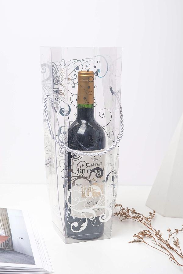 红酒透明胶盒