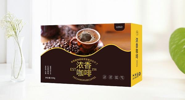 咖啡食品礼盒包装盒详情图