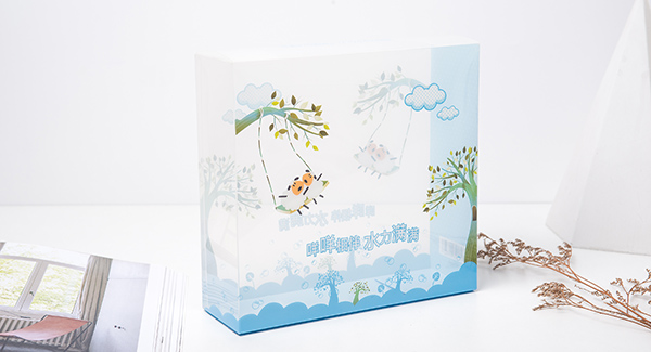 奶瓶产品包装胶盒详情图