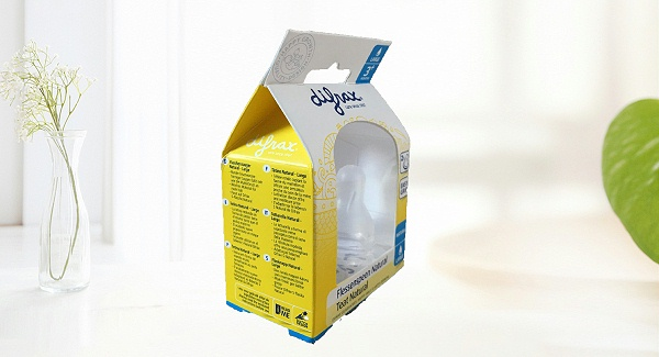 奶嘴产品包装胶盒详情图