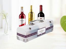 红酒包装胶盒定制