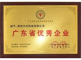 万利-广东省优秀企业